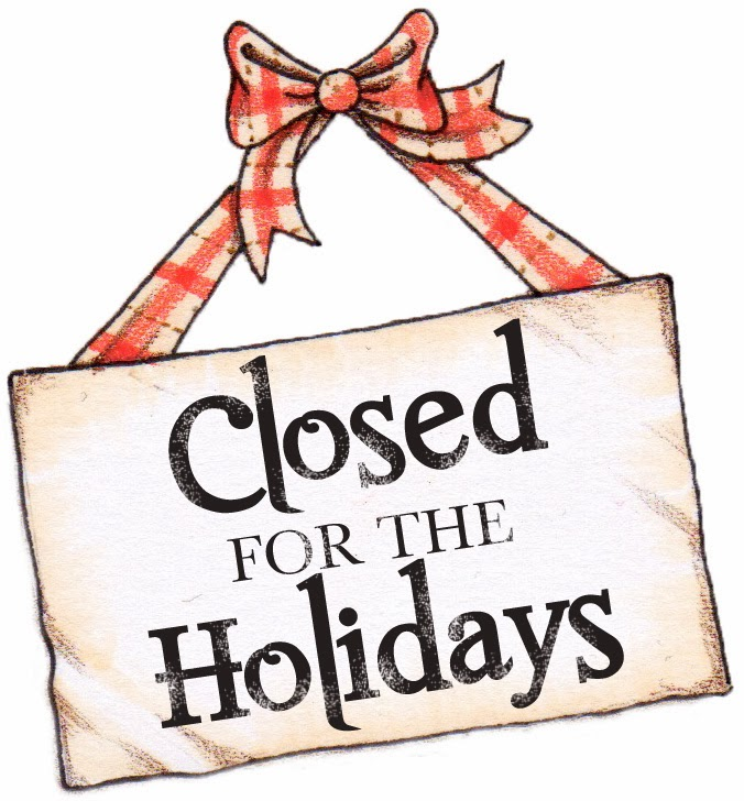Office closed for the Holidays