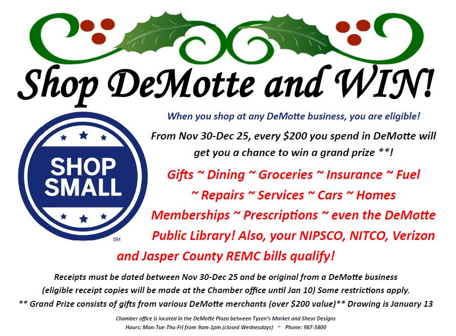 Shop DeMotte & Win